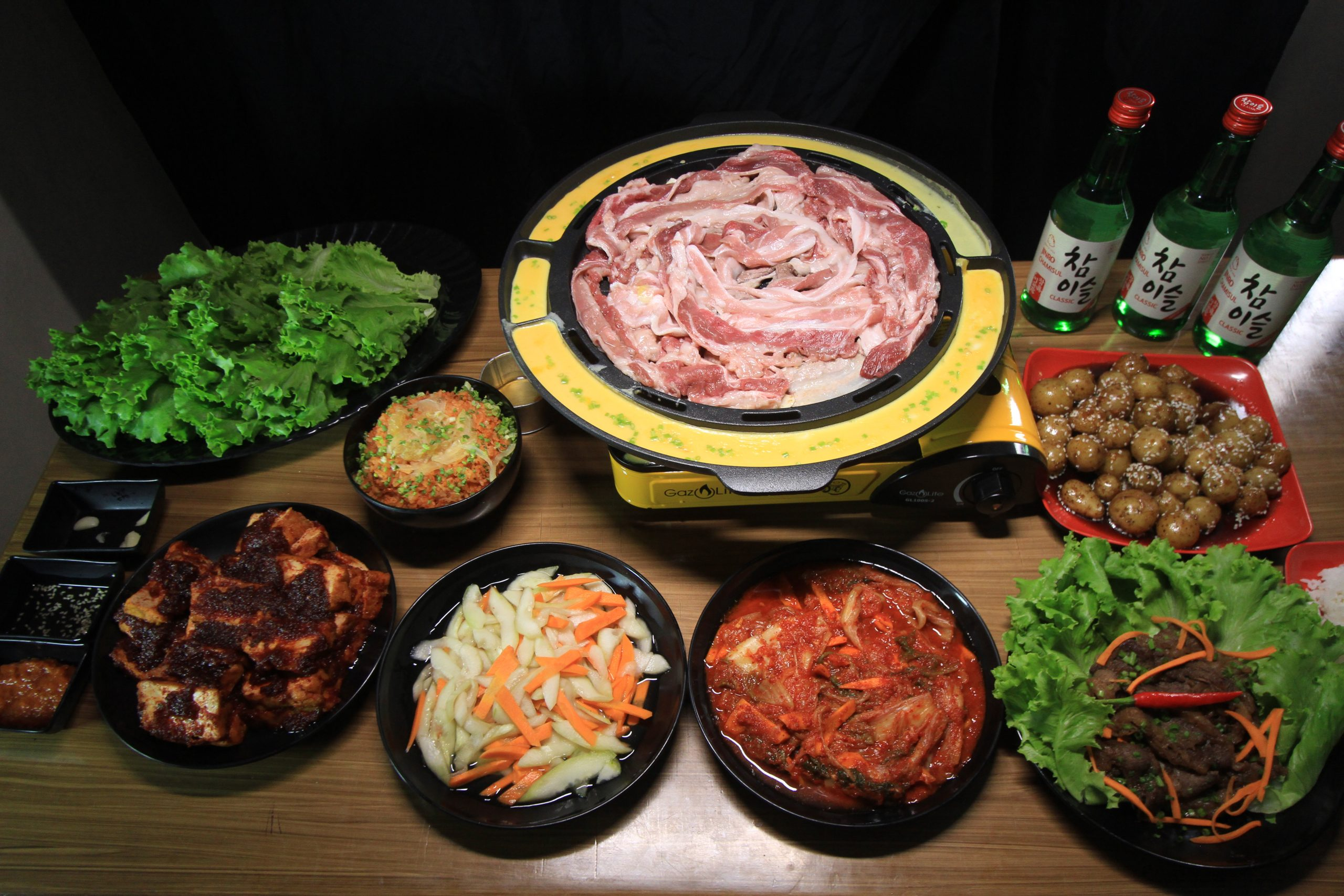 Samgyupsal Packages