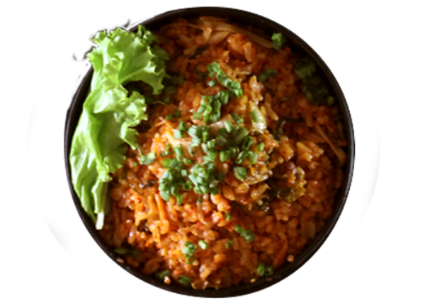 Kimchi Rice (Good for 2 to 3)